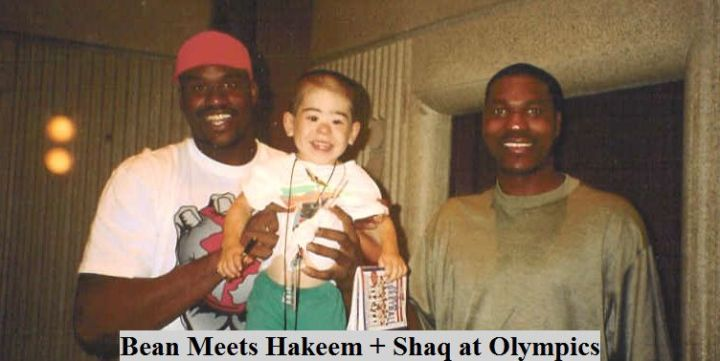 Bean Meets Hakeem + Shaq
