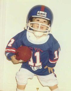 Football Giants Uniform