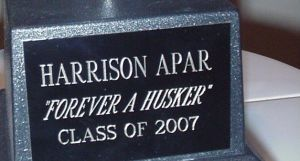 Forever A Husker Trophy Cropped